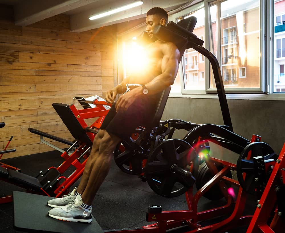should cyclists use weight machines